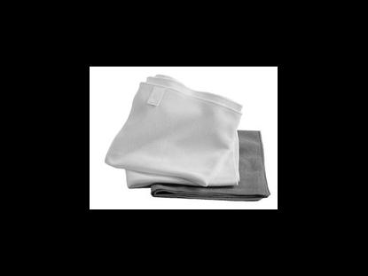 Image de Tissus d'essuyage gris (x5)