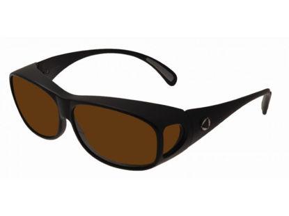 Image de BIOCOVER noir mat VS1 - Taille L - brun polarisé