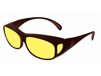 Image de BIOCOVER bronze foncé VS1 - Taille M - jaune polarisé
