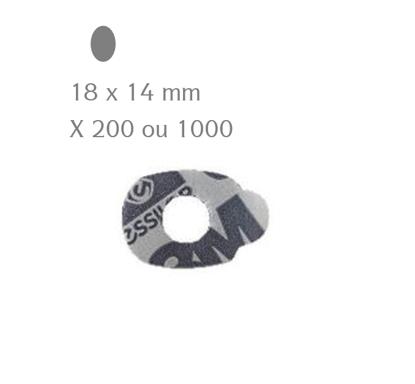 Pastilles adhésives 3M ESSILOR ovales 18x14 mm (x200 ou 1000)